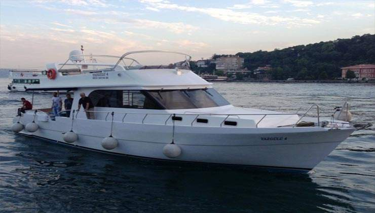 istanbul private yachts