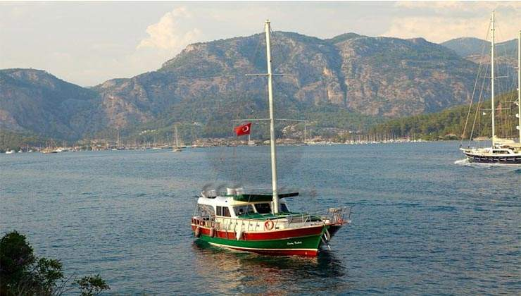 E Petekkaya Gulet Yacht