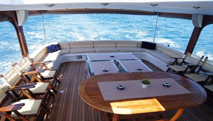 mine sevim gulet sailing boat bodrum